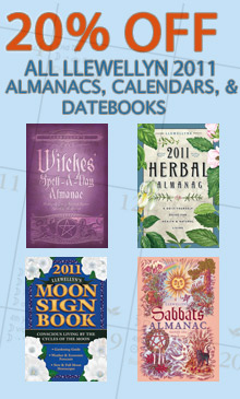 Save 20% On Llewellyn's 2011 Calendars and Almanacs!