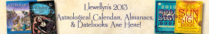 Llewellyn's 2013 Astrological Calendar, Almanacs, and Datebooks Are Here!