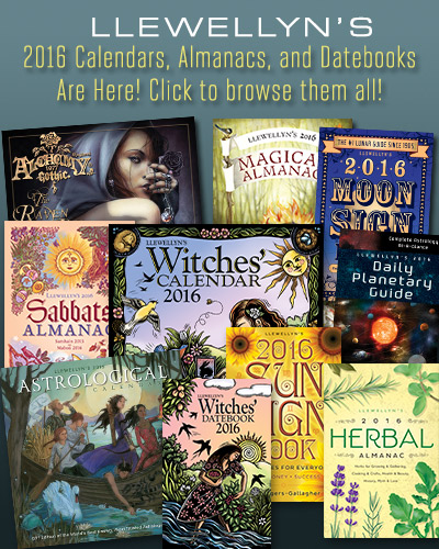 Llewellyn's 2016 Calendars, Almanacs, and Datebooks Are Here!
