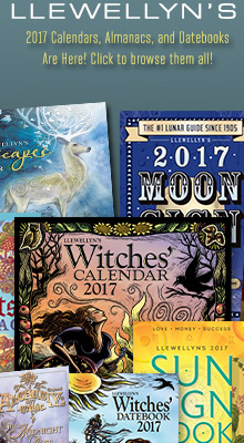Llewellyn's 2017 Calendars, Almanacs, and Datebooks Are Here!