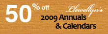Save 50% on Llewellyn's 2009 Annuals and Calendars!