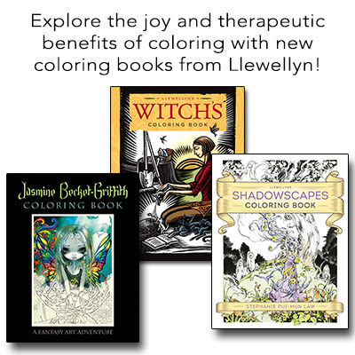 New Coloring Books from Llewellyn