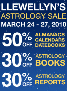 Llewellyn's Astrology Sale!