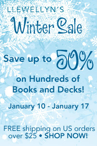 Save up to 50% on hundreds of new releases, books, and decks during Llewellyn's Winter Sale!
