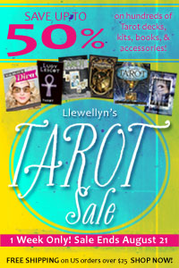 Save up to 50% During Llewellyn's Tarot Sale! Shop Now!