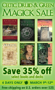 Llewellyn's Celtic and Druid Magick Sale! Save now!