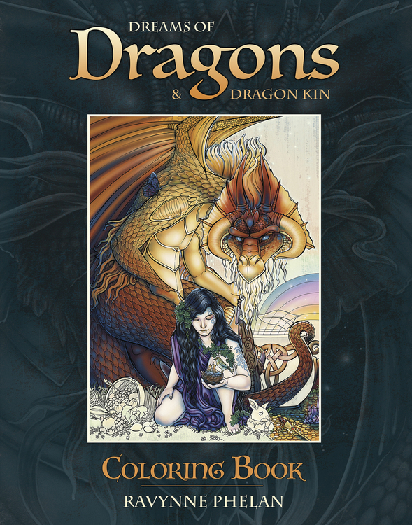 Dreams of Dragons Coloring Book