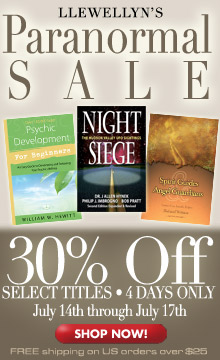Llewellyn's Paranormal Sale! Save 30% on Select Titles July 14-17!