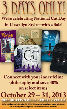Celebrate National Cat Day with a Sale! Save 30%! Free Shipping on U.S. Orders Over $25! Shop Now!