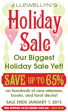 Save up to 65% during the Llewellyn Holiday Sale!