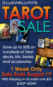 Save up to 50% on Hundreds of Books, Decks, and More During Llewellyn's Tarot Sale! Free Shipping on US Orders Over $25! Shop Now!