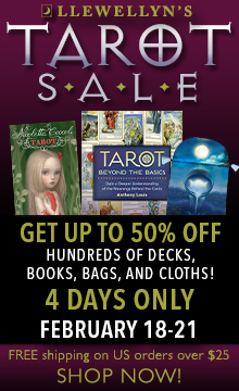 Save up to 50% During Our Tarot Sale, February 18 - 21!