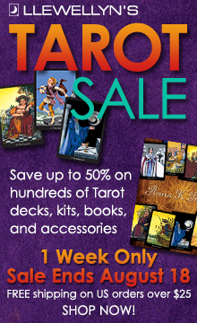 Save up to 50% on Hundreds of Tarot Decks, Books, and More!