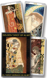Golden Tarot of Klimt, by Lo Scarabeo