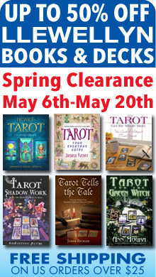Llewellyn's Spring Sale - Hundreds of Llewellyn Books and Decks Up to 50% Off Now Through May 20th - Shop Today for the Best Selection!