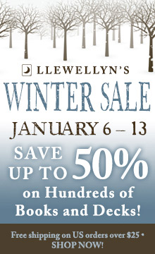 Save up to 50% during the Llewellyn Winter Sale!