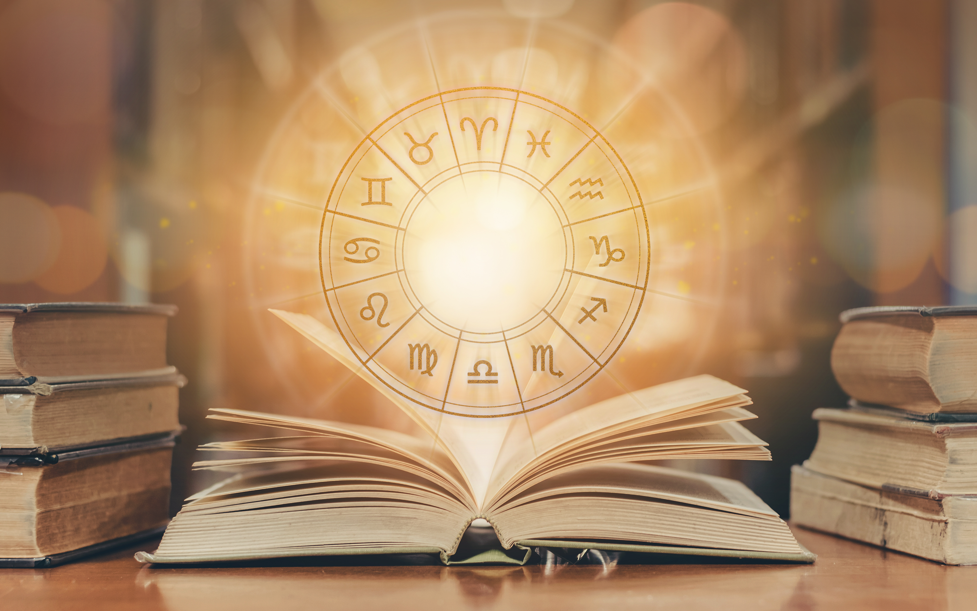 Astrological Chart and Book