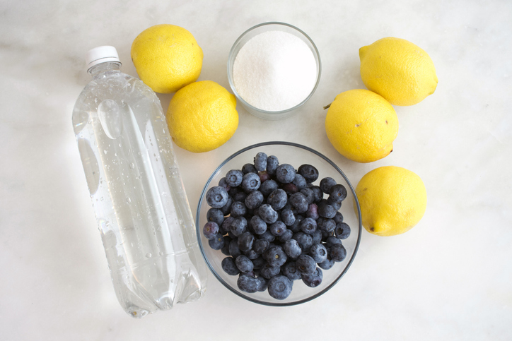 Blueberries and Lemonade