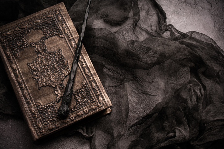 Grimoire and Wand