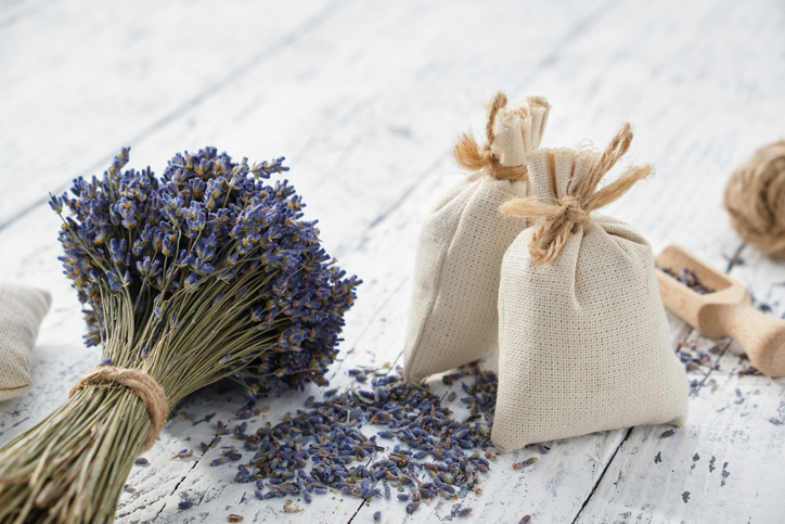 Charm Bag and Lavender