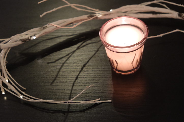 Candle and Branches
