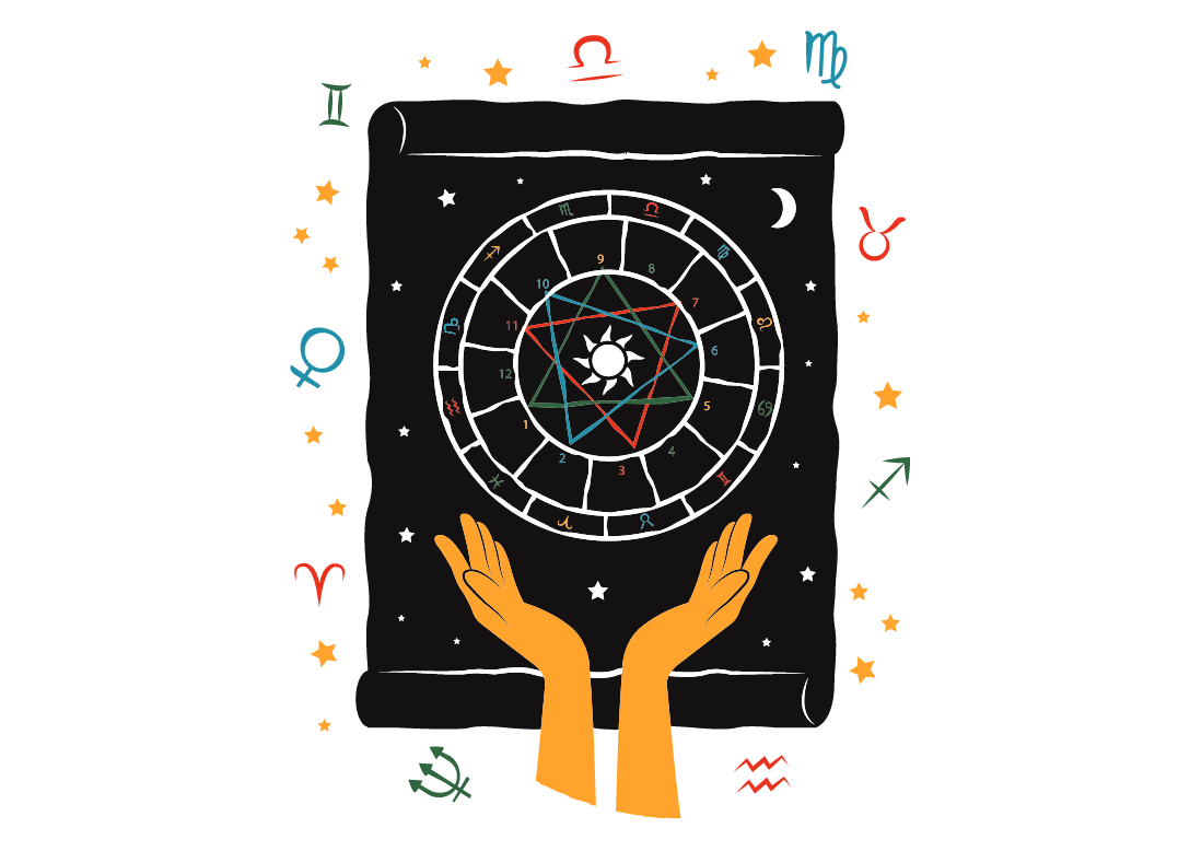 Astrology Symbol from A Mystical Practical Guide to Magic