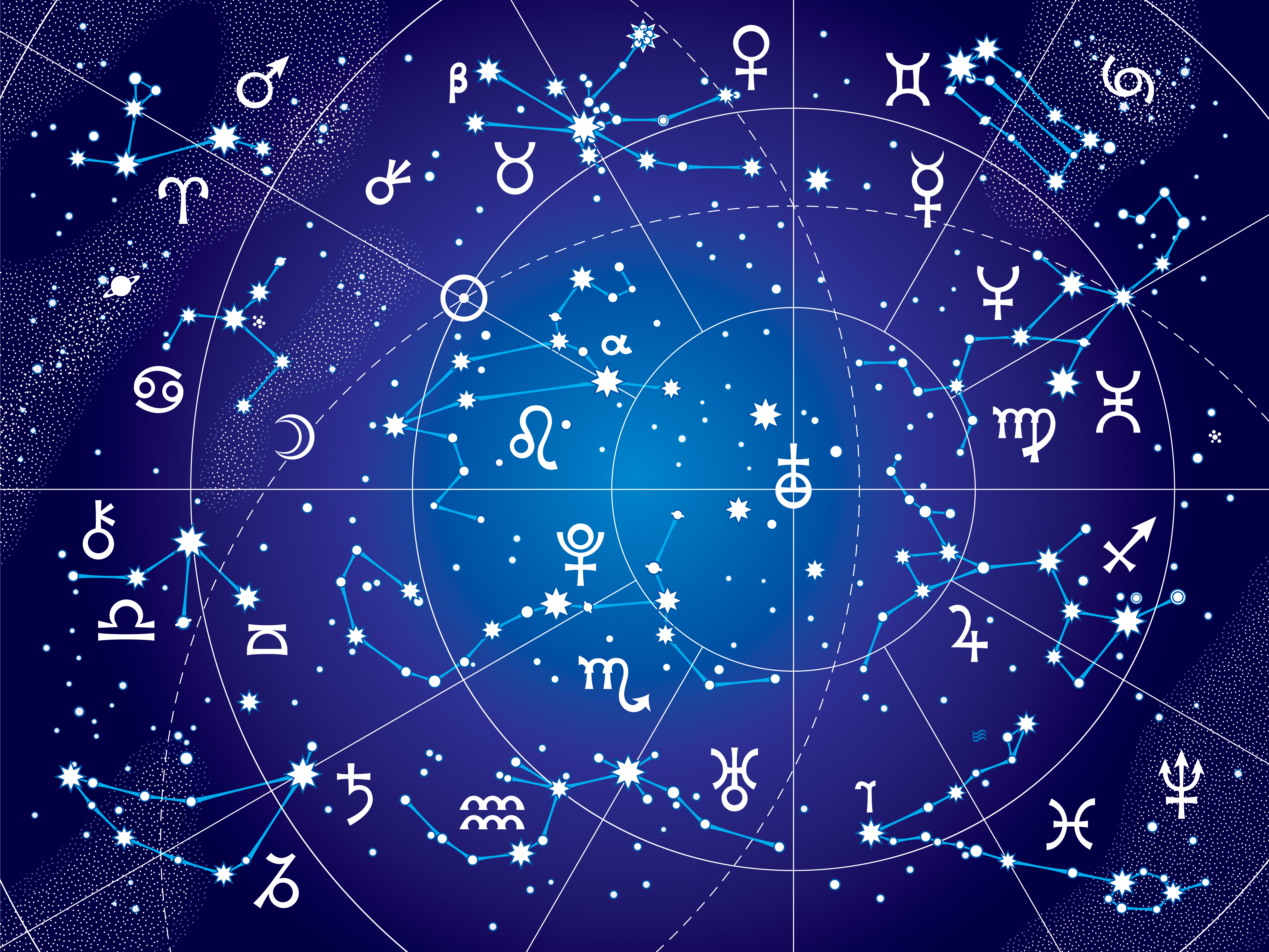 Astrological Chart Illustration