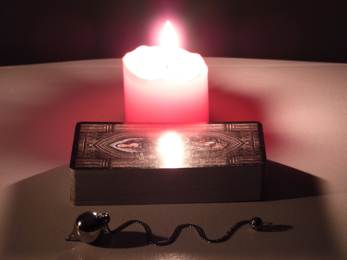Tarot and Candle