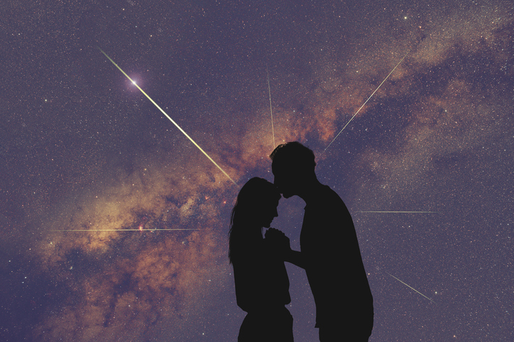 Lovers Under a Starry Sky