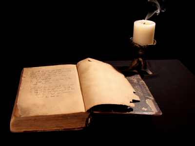 Magick Book and Candle