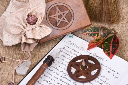witchcraft objects