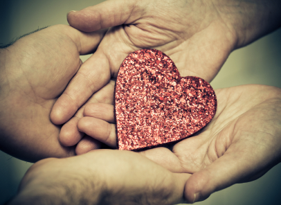 Relationships Heart in Hands