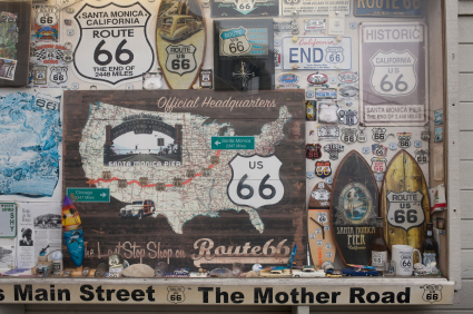 Route 66 Mural