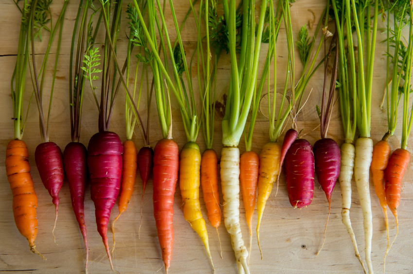 Carrots and Root Vegetables