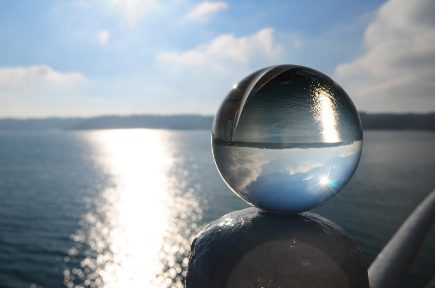 Crystal Ball at the Beach