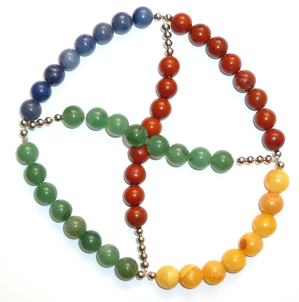 Wheel of the Year Prayer Beads