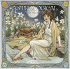 Astrological Art Nouveau 2018 Calendar