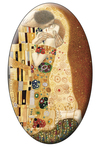 Tarot of Klimt The Lovers Magnet