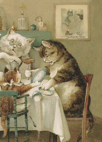 Cat Family Journal, by Lo Scarabeo