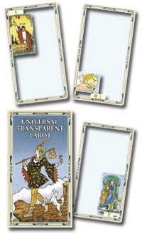 Universal Transparent Tarot Deck, by Lo Scarabeo