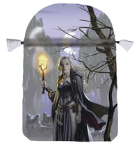 Witches Moon Satin Tarot Bag, by Llewellyn