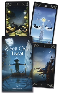 Black Cats Tarot Deck, by Lo Scarabeo