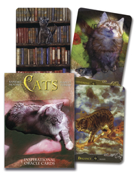 Cats Inspirational Oracle Cards, by Lo Scarabeo