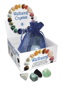 Wellbeing Crystal Talismans, by Lo Scarabeo