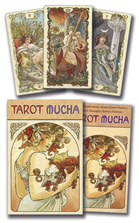 Mucha Tarot, by Lo Scarabeo