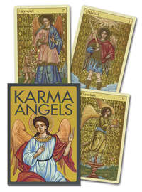 Karma Angels Oracle, by Lo Scarabeo
