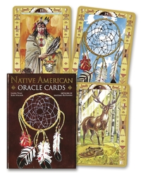 Native American Spirituality Oracle Cards, by Lo Scarabeo