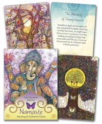Namaste Blessing & Divination Cards, by Toni Carmine Salerno