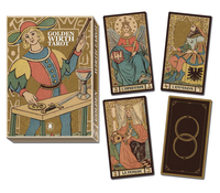 Golden Tarot of Wirth Grand Trumps, by Lo Scarabeo