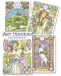 Art Nouveau Lenormand Oracle, by Lo Scarabeo